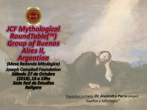 """""""Sueños y Mitología"""" (Dreams and Mythology)"""