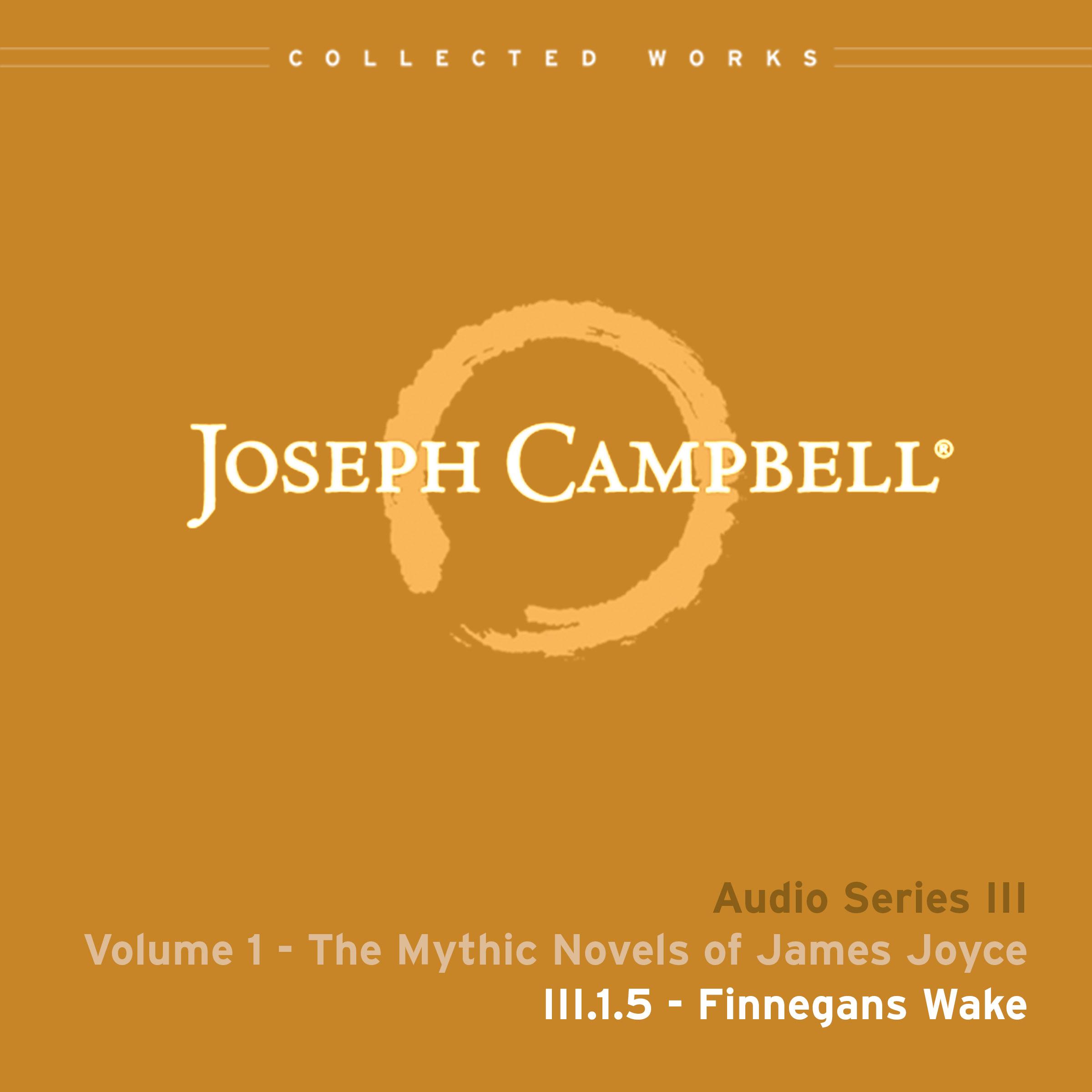 Audio: Lecture III.1.5 - Finnegans Wake