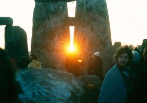 Winter Solstice at Stonehenge (Photo by Mark Grant. Used through a Creative Commons license.)