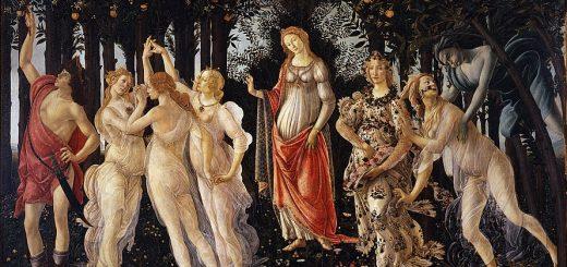 Goddesses - Botticelli's PRimavera