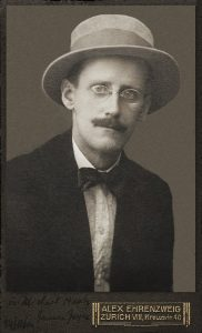 James Joyce c. 1915 (Photo by Alex Ehrenzweig)