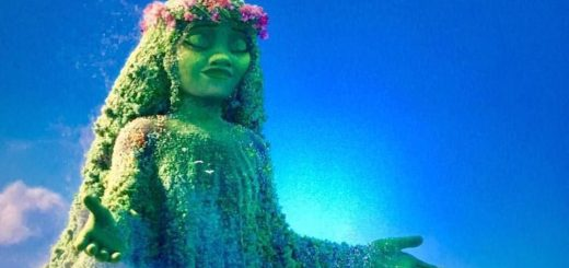 The Goddess Te Fiti (Moana, copyright © Disney, 2016)