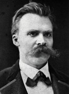 Friedrich Nietzsche, c. 1875 (photograph by Friedrich Hartmann)